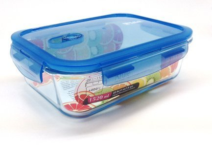 Контейнер для продуктов прямоугольный (1.04 л) TR-8103 Taller контейнер для хранения idea прямоугольный цвет салатовый прозрачный 8 5 л