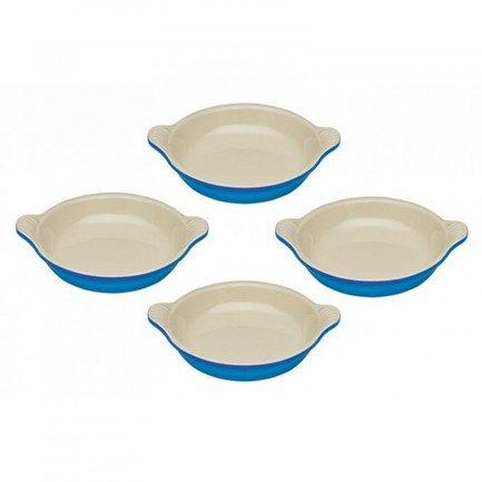 Набор тарелок для крем-брюле, 11 см, 4 шт, марсель (91017316310000) 00041193 Le Creuset