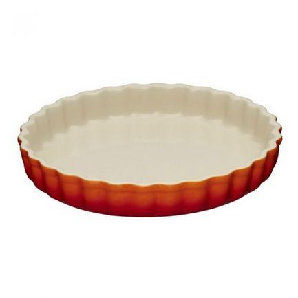 Рифленая форма для запекания (1.4 л), 24 см, оранжевая лава (91015924090100) 00043800 Le Creuset