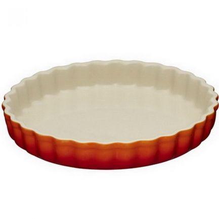 Рифленая форма для запекания (2.1 л), 28 см, оранжевая лава (91015928090100) 00037275 Le Creuset
