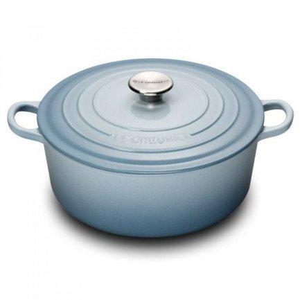 Кастрюля круглая для запекания (4.2 л), 24 см, светло-голубой (21177244202430) 00037174 Le Creuset