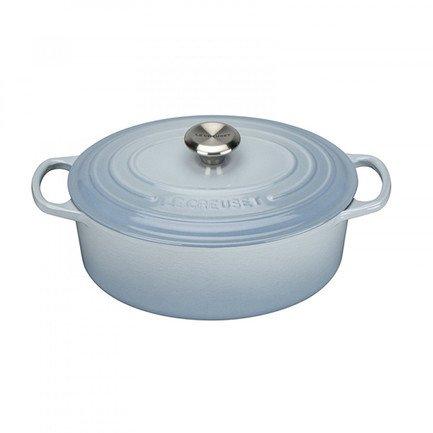 Кастрюля овальная для запекания (4.1 л), 27 см, светло-голубой (21178274202430) 00037176 Le Creuset
