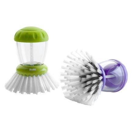Щетка для мытья посуды с емкостью для моющего средства Eco