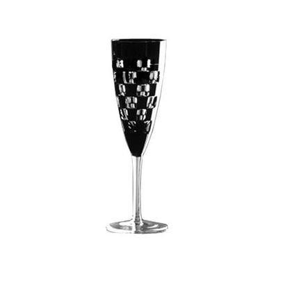 Фужер для шампанского Domino (160 мл), черный 1/65964/51465/48525 Ajka Crystal фужер 150 мл 6 шт crystal heart фужер 150 мл 6 шт