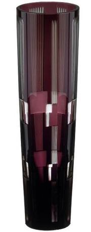 Ваза Retro Black, 25 см, аметист 94918/50464/47029 Ajka Crystal ваза 30 см max crystal