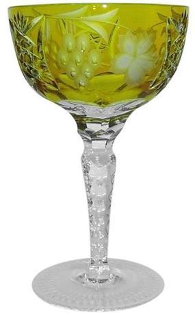 Фужер для шампанского Grape (210 мл), янтарный 1/amber/64576/51380/48359 Ajka Crystal фужер 150 мл 6 шт crystal heart фужер 150 мл 6 шт