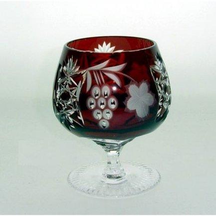 Фужер для коньяка Grape (300 мл), темно-бордовый 1/darkruby/64574/51380/48359 Ajka Crystal