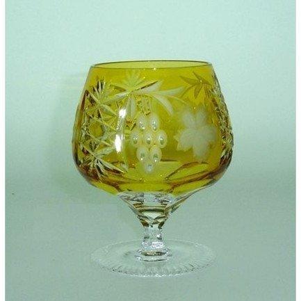 Фужер для коньяка Grape (300 мл), янтарный 1/amber/64574/51380/48359 Ajka Crystal