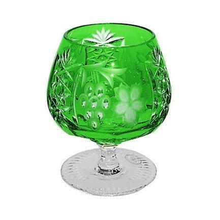 Фужер для коньяка Grape (300 мл), темно-зеленый 1/emerald/64574/51380/48359 Ajka Crystal