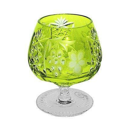 Фужер для коньяка Grape (300 мл), светло-зеленый 1/reseda/64574/51380/48359 Ajka Crystal