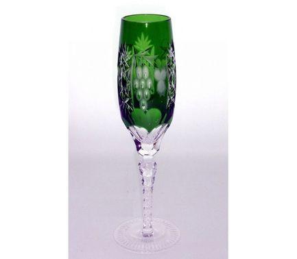 Фужер для шампанского Grape (180 мл), темно-зеленый 1/emerald/64582/51380/48359 Ajka Crystal недорого