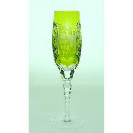 Фужер для шампанского Grape (180 мл), светло-зеленый 1/reseda/64582/51380/48359 Ajka Crystal недорого