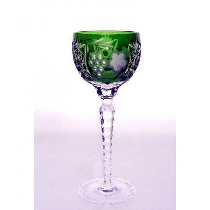 Фужер для красного вина Grape (230 мл), темно-зеленый 1/emerald/64572/51380/48359 Ajka Crystal фужер для вина st louis 220 мл зеленый 1 15738 47127 40371 ajka crystal