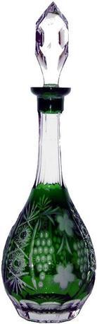 Декантер с пробкой Grape (750 мл), темно-зеленый emerald/64569/51380/48359 Ajka Crystal