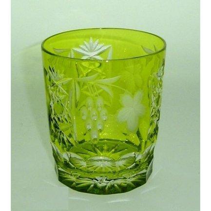 Стакан низкий Grape (390 мл), светло-зеленый 1/reseda/64580/51380/48359 Ajka Crystal рюмка ajka crystal st louis reseda 70 мл