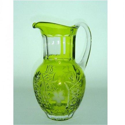 Кувшин Grape (1.2 л), светло-зеленый reseda/64571/51380/48359 Ajka Crystal