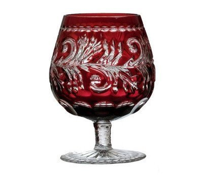 Фужер для коньяка Monica (300 мл), темно-бордовый 1/88581/49252/46404 Ajka Crystal