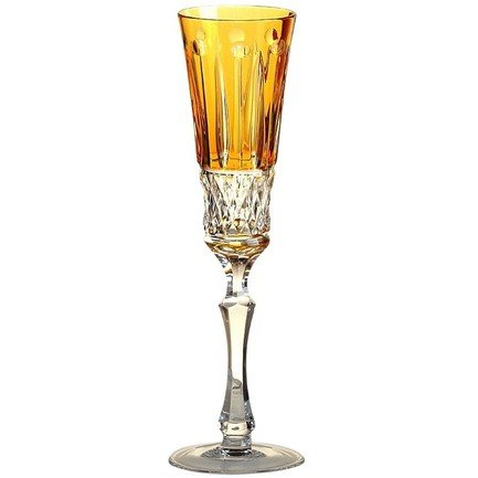 Фужер для шампанского St. Louis (120 мл), янтарный 1/15925/47127/40371 Ajka Crystal фужер для вина st louis 220 мл зеленый 1 15738 47127 40371 ajka crystal