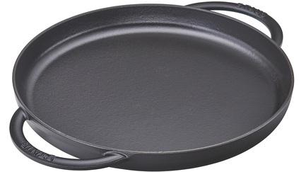Сковорода, 26 см, с двумя ручками, черная 12282623 Staub сковорода круглая 20 см с деревянной ручкой черная 12242023 staub