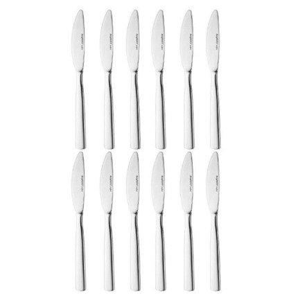 цена Набор столовых ножей Evita, 21 см, 12 шт. 1212001 BergHOFF онлайн в 2017 году