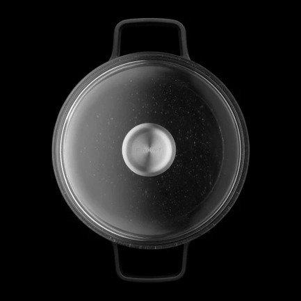Кастрюля с крышкой Gem (7.3 л), 28 см 2307311 BergHOFF кастрюля 7 3 л berghoff gem 2307311