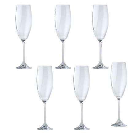 цена на Набор бокалов для шампанского CooknCo Casa (215 мл), 6 пр. 2800000 BergHOFF
