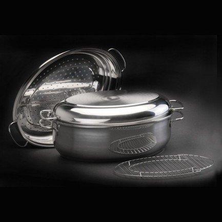 Набор овальных противней CooknCo, 30 см, 4 пр. 2801536 BergHOFF набор мисок сервировочных cooknco 0 5 л 16 см 6 пр 2800057 berghoff