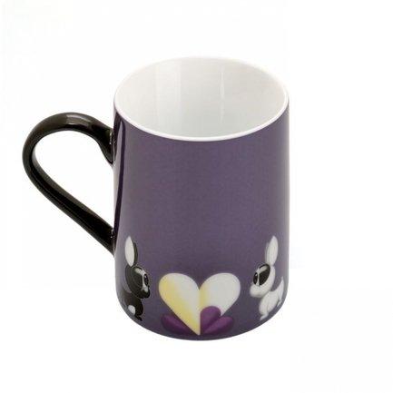 Кружки Lover by Lover (300 мл), 2 шт., фиолетовые 3800002 BergHOFF ковш berghoff lover by lover 3800008 1 4 л молочный
