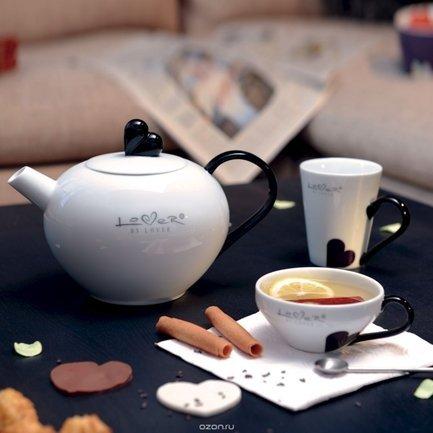 Чайник заварочный Lover by (1.2 л), белый 3800011 BergHOFF