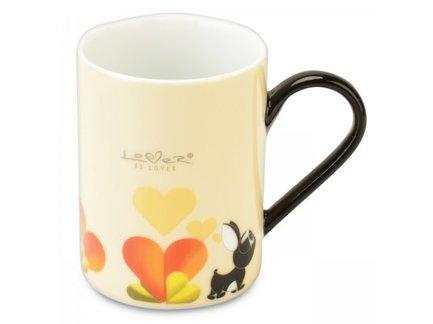 Кружки Lover by Lover (300 мл), 2 шт., желтые 3800012 BergHOFF ковш berghoff lover by lover 3800008 1 4 л молочный