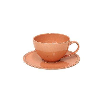 Чайная пара Friso (0.2 л), террактовый