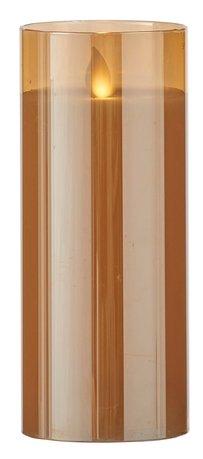 Свеча декоративная, 17.5х7.5 см, золото