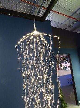 Гирлянда декоративная Комета, теплый свет, 768 лампочек, 220 см