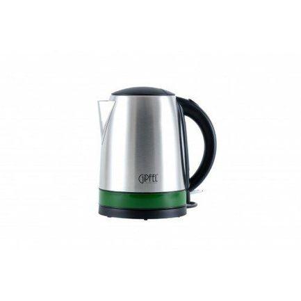 Чайник электрический для кипячения воды (1.7 л), зеленый 2005 Gipfel чайник gipfel для кипячения воды cypress 4 5 л нерж сталь