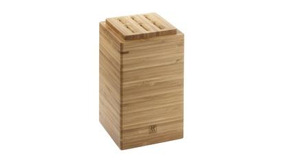 Подставка для ножей и принадлежностей, 11.2х11.2х18 см, бамбук 35101-403 Zwilling J.A. Henckels