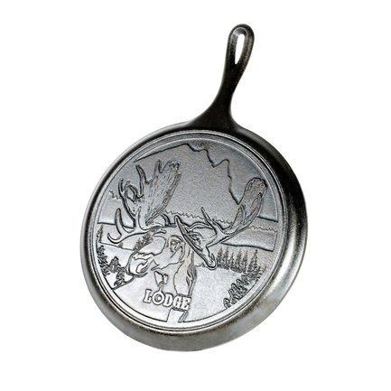 Сковорода круглая блинная Moose Logo - Лого Лось, 26 см
