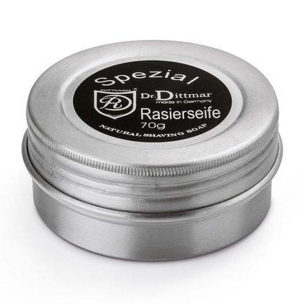 Твердое мыло для бритья Spezial, в металлической банке