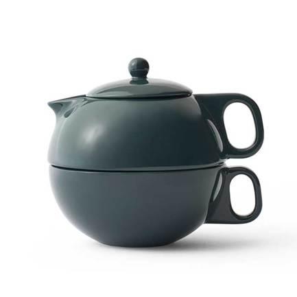 Чайный набор Jaimi (0.3 л), на одну персону, 2 пр., темно-зеленый V79939 Viva Scandinavia
