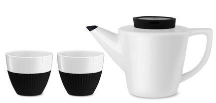 Чайный набор Infusion, 3 пр., черный V24101 Viva Scandinavia чайный набор 3 предмета viva infusion v24121