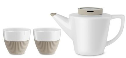 Чайный набор Infusion, 3 пр., хаки V24121 Viva Scandinavia чайный набор 3 предмета viva infusion v24121