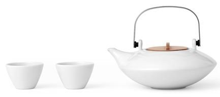 Чайный набор Pure, 3 пр., белый V75902 Viva Scandinavia чайный набор 3 предмета viva infusion v24121