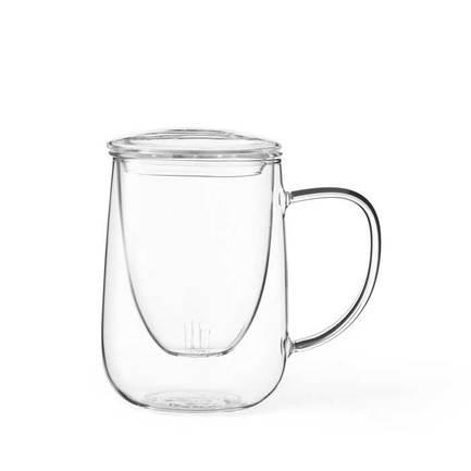 Чайная кружка с ситечком Cutea (0.6 л), прозрачная V71700 Viva Scandinavia