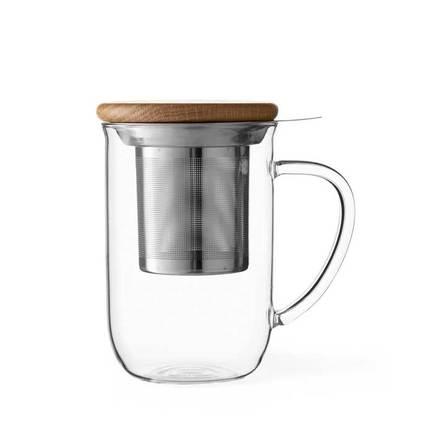 Чайная кружка с ситечком Minima (0.5 л), прозрачная V71400 Viva Scandinavia