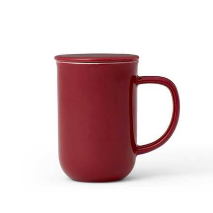 Чайная кружка с ситечком Minima (0.5 л), бордовая V77540 Viva Scandinavia