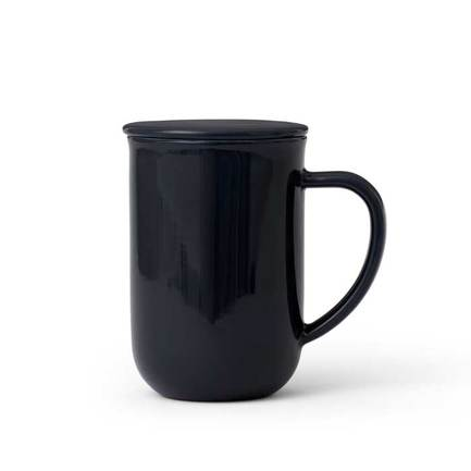Чайная кружка с ситечком Minima (0.5 л), темно-синяя V77545 Viva Scandinavia