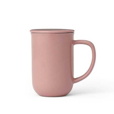 Чайная кружка с ситечком Minima (0.5 л), чайная роза V77550 Viva Scandinavia