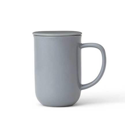 Чайная кружка с ситечком Minima (0.5 л), серо-голубая V77554 Viva Scandinavia