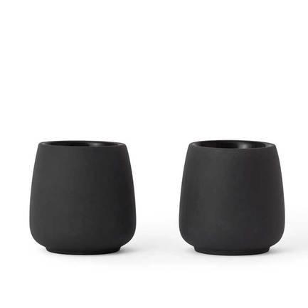 Чайный стакан Nicola (80 мл), 2 шт., серый V35803 Viva Scandinavia чайный стакан nicola 170 мл 2 шт серый v35703 viva scandinavia