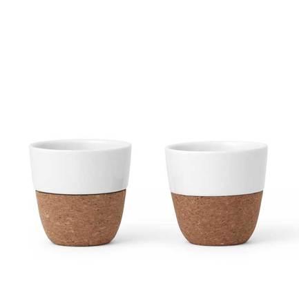 Чайный стакан Lauren (100 мл), 2 шт., белый V79102 Viva Scandinavia чайный стакан nicola 170 мл 2 шт серый v35703 viva scandinavia