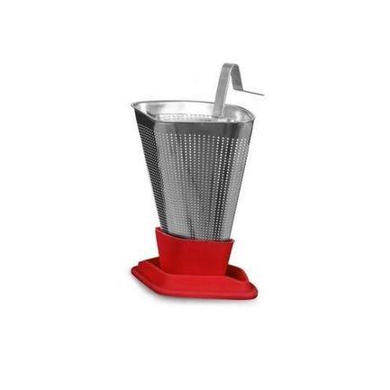 Ситечко для заваривания чая Infusion, 6.4х9.3 см, красное V29125 Viva Scandinavia ситечко для заваривания чая infusion 6 4х9 3 см красное v29125 viva scandinavia